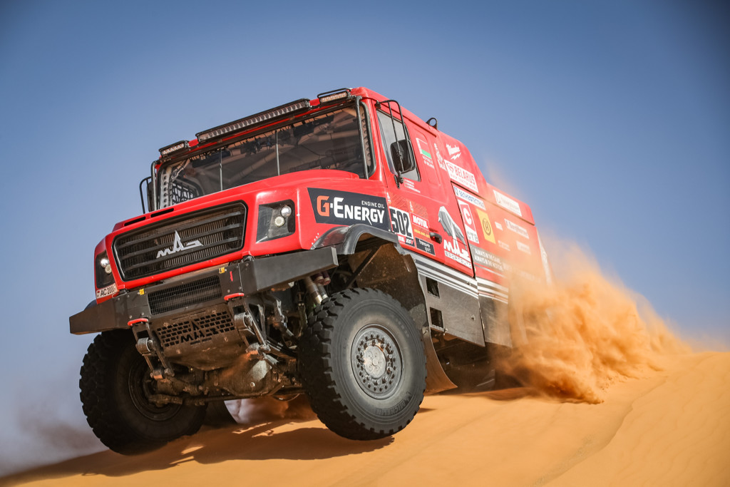 Sergej Vjazovič, Dakar 2021