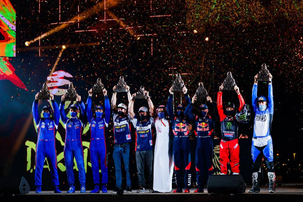 Vítězové, Dakar 2021