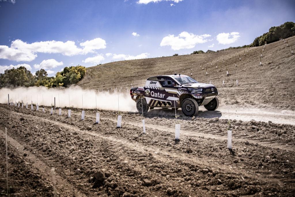 Nasser Al-Attiyah, shakedown Andalucía Rally 2021