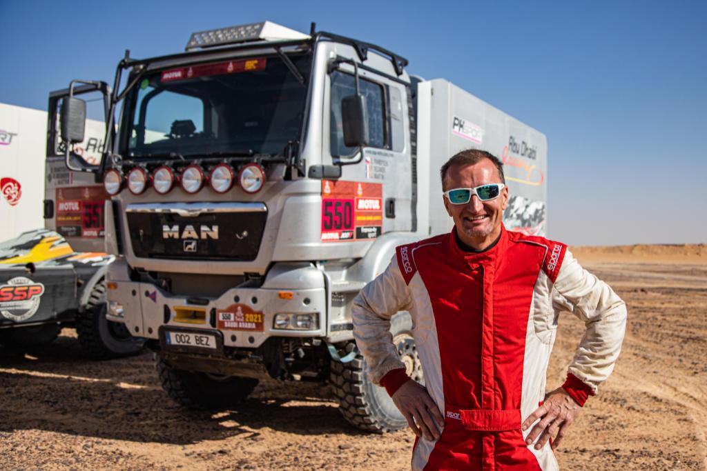 Dušan Randýsek, Dakar 2021