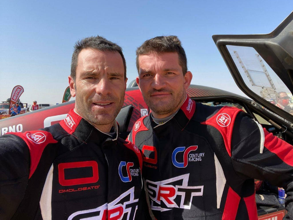 Mathieu Serradori & Fabian Lurquin, Dakar 2021