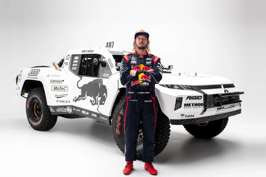 Toby Price, Mitsubishi Triton Trophy Truck