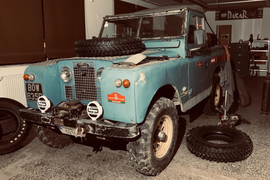 České posádky vyrazí na Dakar Classic s Land Rovery