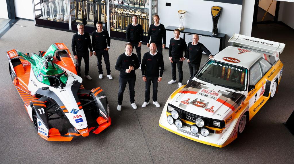 Jezdecká sestava Audi pro Dakar 2022