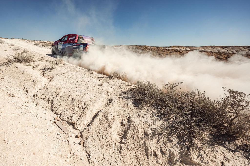 Lucio Álvarez, Rally Kazakhstan 2021