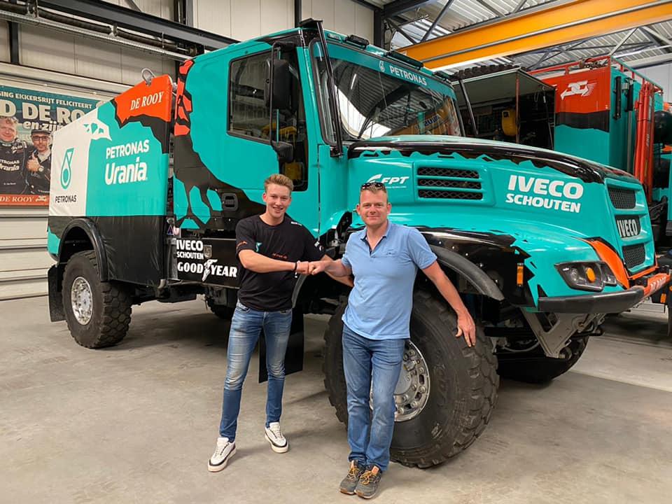 Mitchel van den Brink & Gerard de Rooy