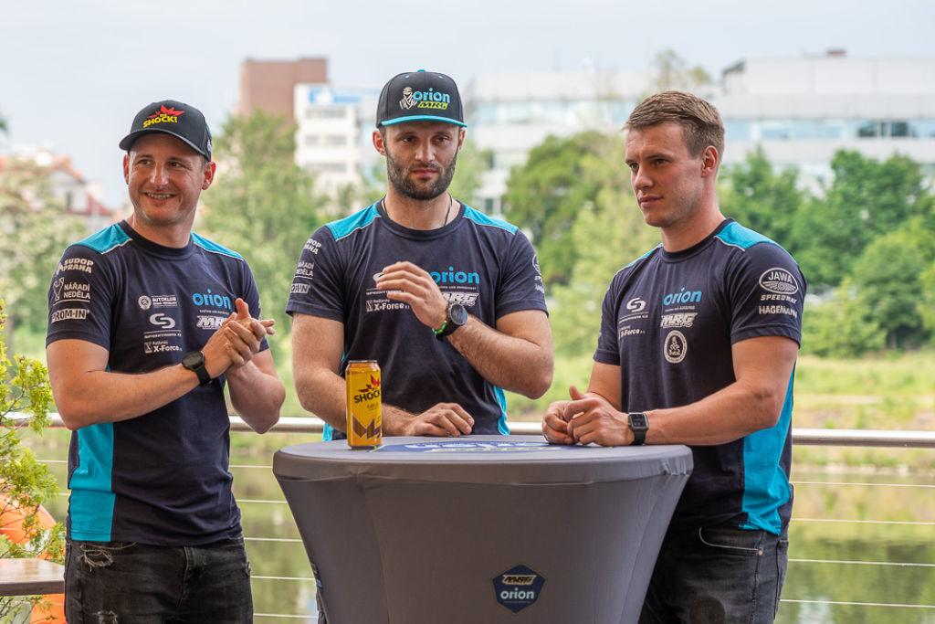 Martin Michek, Milan Engel & Jakub Hroneš