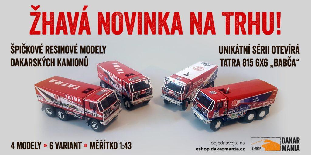 Tatra 815 6x6 Babča, resin