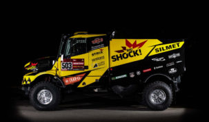 "Iveco Powerstar ""Arnošt"", Big Shock! Racing"