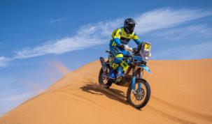 Milan Engel, Rallye du Maroc 2021