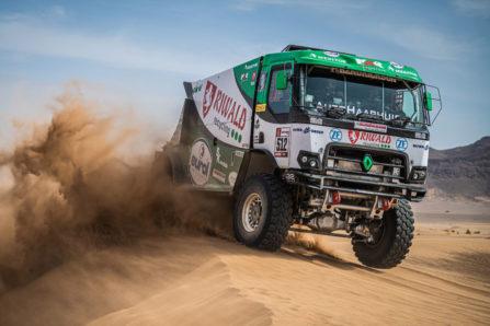 Gert Huzink, Rallye du Maroc 2021