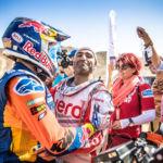 Paulo Gonçalves & Sam Sunderland, Silk Way Rally 2019