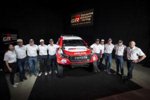 Toyota posádky Dakar 2020